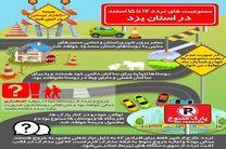 استانداری یزد دادنمای محدودیت تردد در استان یزد را ابلاغ کرد