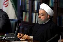 روحانی به رئیس جمهور ازبکستان تبریک گفت