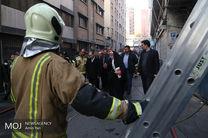 آتش ساختمان برق وزارت نیرو خاموش شد