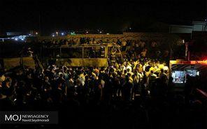 تصادف مرگبار اتوبوس و تانکر سوخت در سنندج
