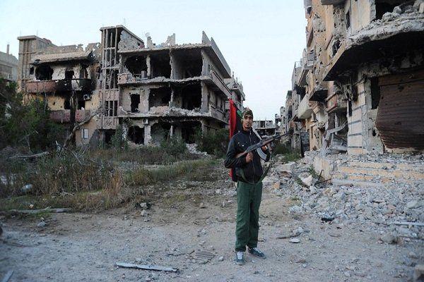 ۱۴۱ نفر در حمله به یک پایگاه نظامی در لیبی کشته شدند