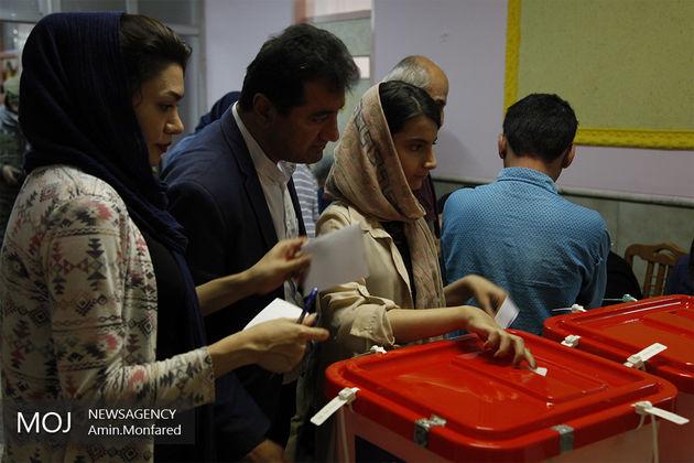مشارکت بالای مردم جزایر ابوموسی و هرمز در انتخابات
