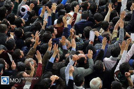 دیدار مردم آذربایجان شرقی با مقام معظم رهبری