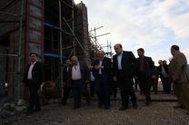 بارندگیهای فراوان باعث کندی اجرای پروژه راهآهن کرمانشاه است