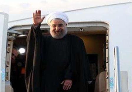 رئیس جمهوری قم را به مقصد تهران ترک کرد