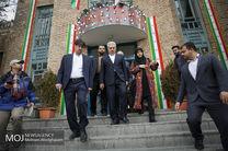 بازدید مونسان از جشنواره صنایع دستی فجر