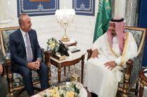 پیام شفاهی اردوغان به شاه سلمان