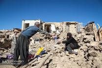 فرمانده سپاه از مناطق دورافتاده و مرزی زلزله زده بازدید هوایی کرد