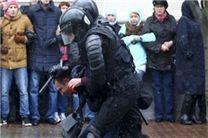 دستگیری صدها بلاروسی معترض به وضعیت معیشتی در مینسک