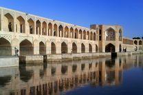 آب برای آبیاری زمینهای شرق و غرب اصفهان جاری شد