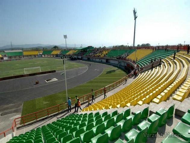 ورزشگاه سردارجنگل برای هفته اول رقابتهای لیگ برتر آماده نمیشود