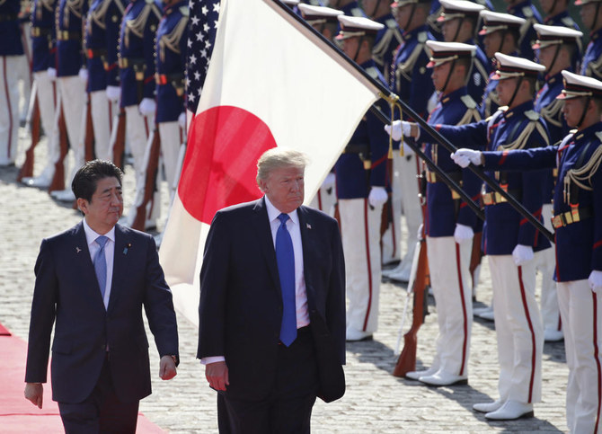 Trump and Abe discussed Gulf of Oman tanker attacks