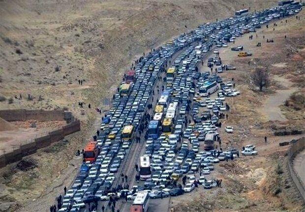 آخرین وضعیت ترافیکی مسیرهای تردد زائران اربعین