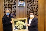 دیدار و گفتگوی رئیس اتاق بازرگانی تهران با مسعود گلشیرازی