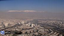 کیفیت هوای تهران ۲۶ دی ۹۹ /شاخص کیفیت هوا به ۱۳۰ رسید
