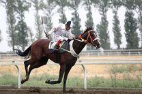 هفته دوم مسابقات اسبدوانی بهاره کشور در گنبدکاووس برگزار شد