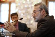 علی لاریجانی وارد تربیت حیدریه شد