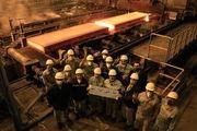 تولید تختال با ضخامت 300 میلیمتر در شرکت فولاد مبارکه