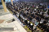 آخرین نماز جمعه تهران در ماه مبارک رمضان همزمان با روز جهانی قدس به امامت حجت الاسلام سید احمد خاتمی