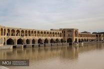جاری شدن آب در زایندهرود تا اواسط خرداد ماه ۹۸
