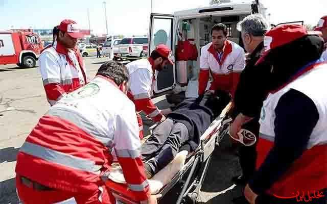 امدادرسانی  هلال احمر اصفهان به ۲۷۵ نفر طی ۱۰۱ عملیات