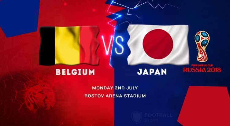 ساعت بازی بلژیک و ژاپن در مرحله یک هشتم نهایی جام جهانی