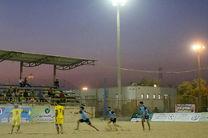 ورزشگاه ساحلی غدیر بندرعباس بازسازی شد