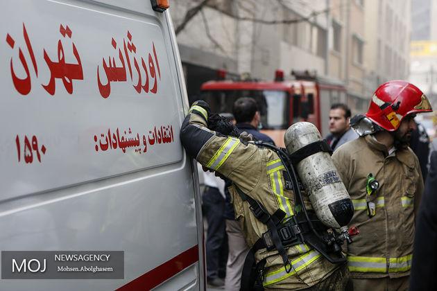 احتمال ریزش ساختمان برق حرارتی وزارت نیرو اعلام شد