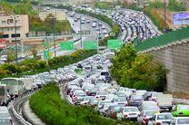 جاده چالوس یکطرفه شد / حجم ترافیک در ساعات آینده افزایش پیدا میکند