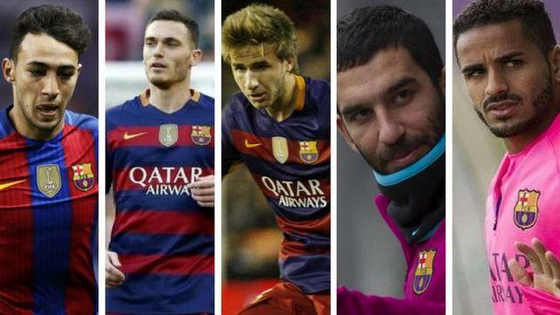 بازیکنانی که روی دست بارسلونا ماندند