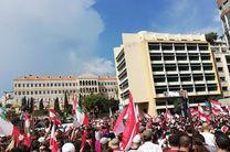 شماری از لبنانی ها تصاویر «محمد بن سلمان» را به آتش کشیدند