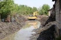 لایروبی نهر سُنگ پس از 35 سال