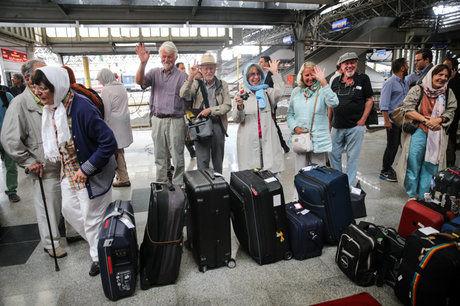 چهاردهمین قطار بینالمللی گردشگری راهی ایران شد