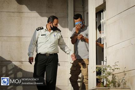 دستگیری سه زورگیر شمال تهران