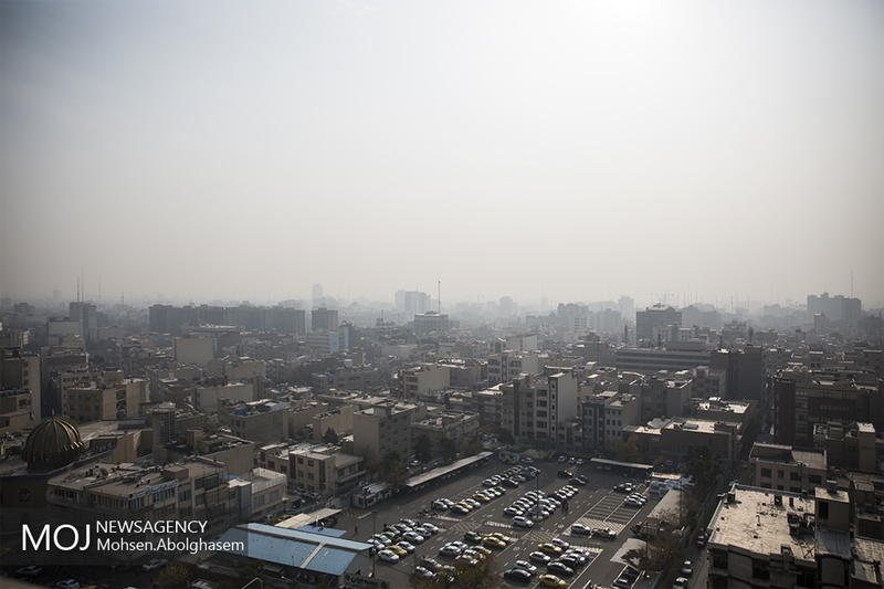کیفیت هوای تهران در 15 دی 97 ناسالم برای گروه های حساس است