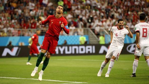 پایان نیمه نخست ایران و پرتغال با برتری پرتغال