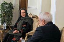 مریم جوان شهرکی با ظریف دیدار کرد