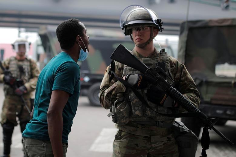 آمادهباش صدها نیروی گارد ملی آمریکا در واشنگتن