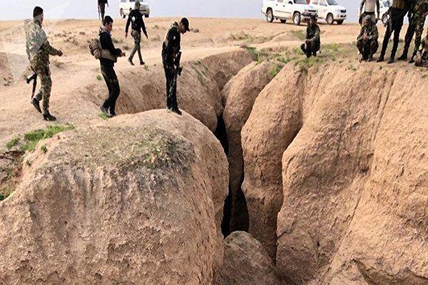کشف 20  مخفیگاه داعش توسط نیرو های عراقی