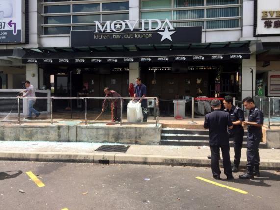 حمله تروریستی در مالزی ۸ زخمی برجای گذاشت