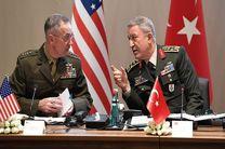 محتوای مذاکرات ژنرال های چهار ستاره آمریکا و ترکیه چه بود