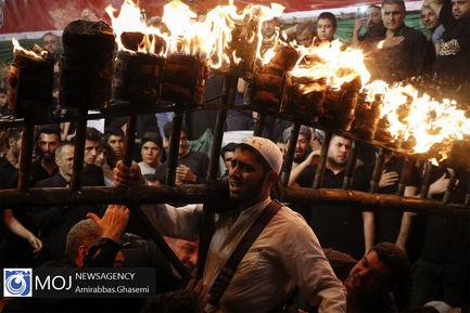 آیین+مشعل+گردانی+در+محله+دولت+آباد+تهران