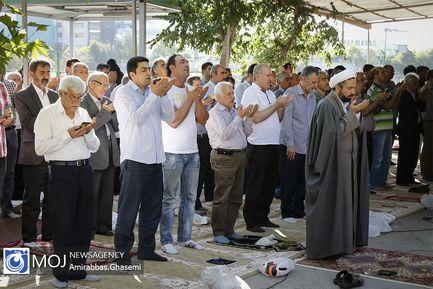 نماز عید سعید فطر در امامزاده عینعلی و زینعلی (ع)