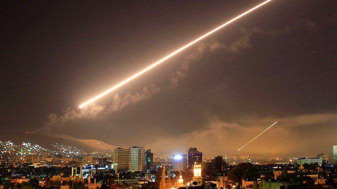 حمله هوایی رژیم صهیونیستی به استان حماه سوریه