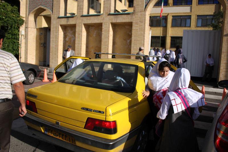 معاینه فنی تاکسیهای سرویس مدرسه خارج از نوبت