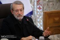 علی لاریجانی وارد استان لرستان شد