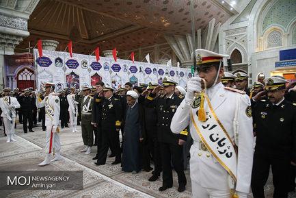 تجدید میثاق نیروی دریایی ارتش  با آرمان های امام راحل