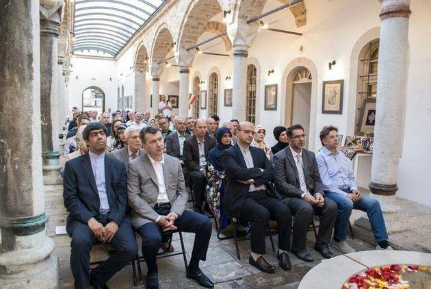 """برگزاری نمایشگاه """"روزهای قرآن"""" در سفارت ایران در بوسنی"""