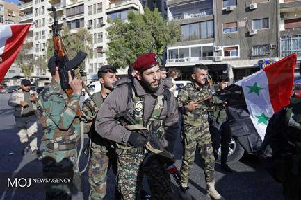 حال و هوای دمشق پس از حملات موشکی