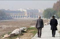 هوای اصفهان ناسالم برای گروههای حساس / شاخص کیفی هوا 107